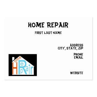 Renovation business card templates free download programs for Home improvement business card template