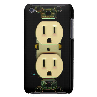 Home repair contractors electrical outlet guys art iPod Case-Mate case