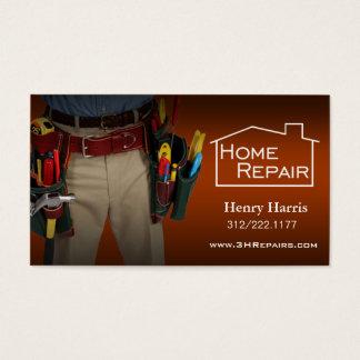 Home Repair Handyman Business Card
