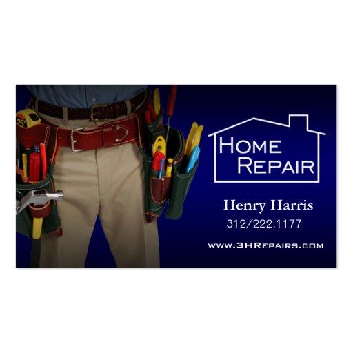 Home repair handyman business card templates zazzle for Home repair business cards