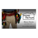 Home Repair Handyman Business Card Templates