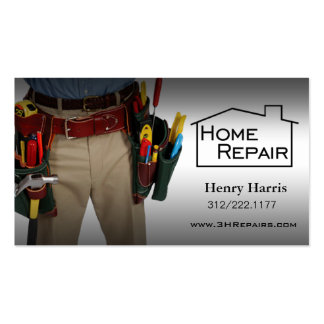 Home Repair Handyman Double-Sided Standard Business Cards (Pack Of 100)