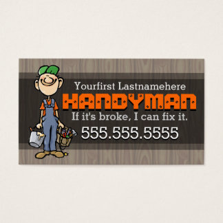 Home Repair.Handyman.Remodeling.Carpenter.Painter Business Card