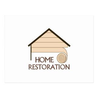HOME RESTORATION POSTCARD