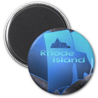 Home Rhode Island 2 Inch Round Magnet