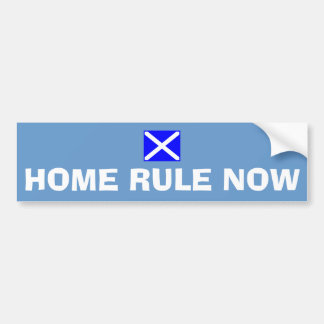 Home Rule Now Scottish Independence Flag Sticker Car Bumper Sticker