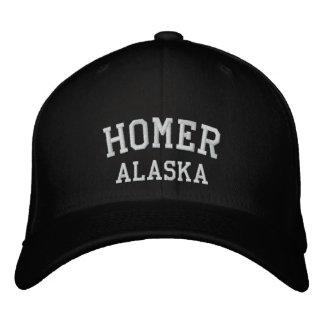 Home run, Alaska Gorra De Béisbol Bordada