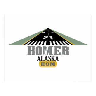 Home run Alaska - pista del aeropuerto Postal