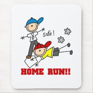 Home Run Baseball Mouse Pad