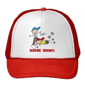 Home Run Boys Baseball Tshirts and Gifts Trucker Hat