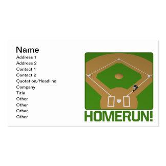 Home Run Business Card