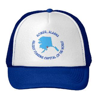 Home run, capital de la pesca del halibut de Alask Gorra