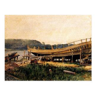Home run - construcción naval, Ipswich Postal