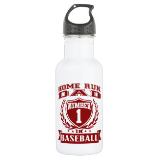 Home Run Dad Water Bottle