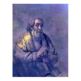Home run de Rembrandt Harmenszoon van Rijn Postal