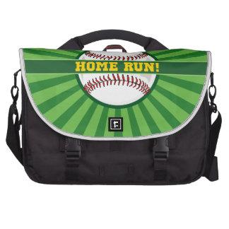 Home run del béisbol bolsas para portátil