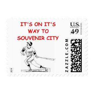 home run derby sellos postales
