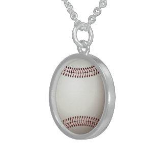 Home Run Game Team Coach Sports Ball Fun Baseball Custom Necklace