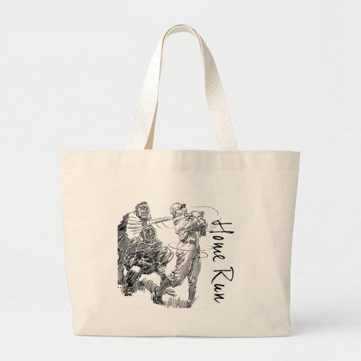 Home Run Jumbo Tote Bag