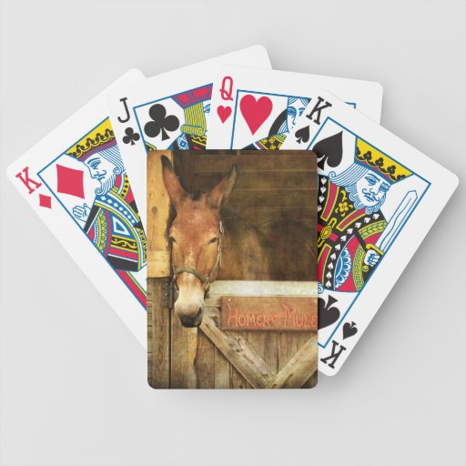 Home run la mula baraja cartas de poker
