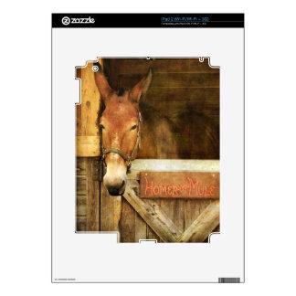Home run la mula iPad 2 skins