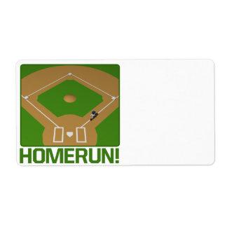 Home Run Custom Shipping Labels