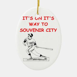 home run christmas ornament