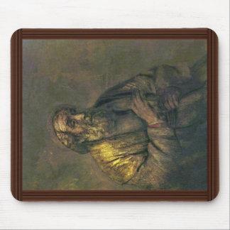 Home run. Por Rembrandt Van Rijn (la mejor calidad Alfombrilla De Raton