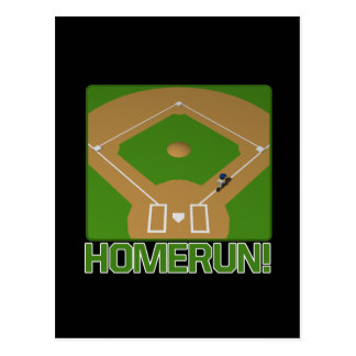 Home Run Postcard
