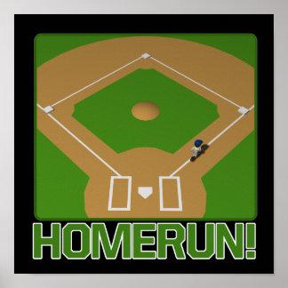 Home Run Print