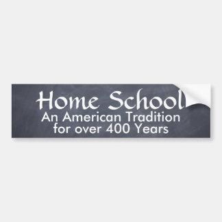Home School Car Bumper Sticker