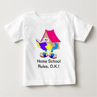Home School Rules, O.K. Baby T-Shirt