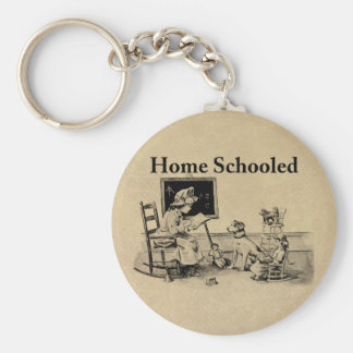 Home Schooled Clothing and Gifts Keychain