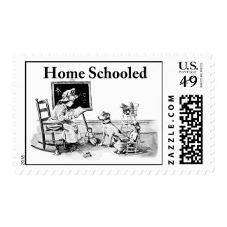 Home Schooled Clothing and Gifts Stamp