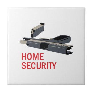 Home Security Ceramic Tile