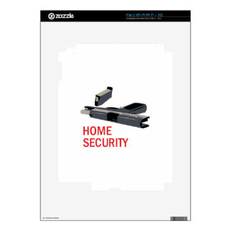 Home Security Decals For iPad 2