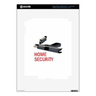 Home Security iPad 3 Decal