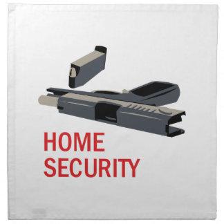 Home Security Napkin
