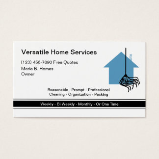 Home Services Business Cards