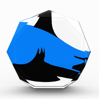 Home shark Office custom personalize business Acrylic Award