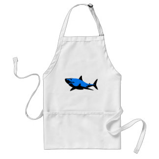 Home shark Office custom personalize business Adult Apron