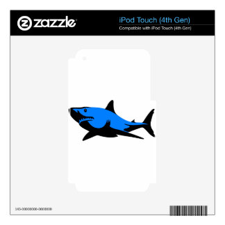 Home shark Office custom personalize business iPod Touch 4G Skins