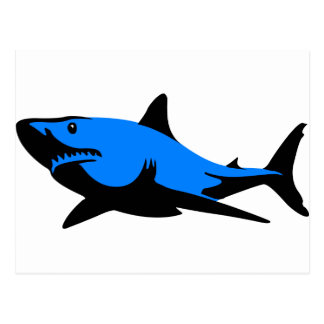 Home shark Office custom personalize business Postcard
