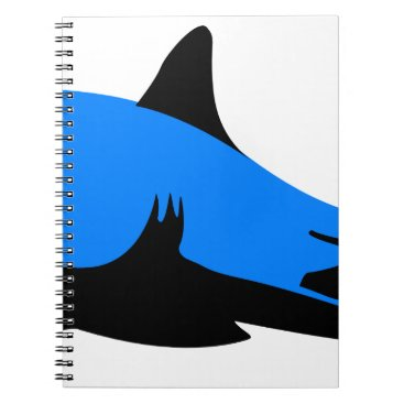 Professional Business Home shark Office custom personalize business Spiral Notebook