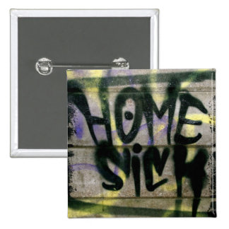 Home Sick Pinback Buttons