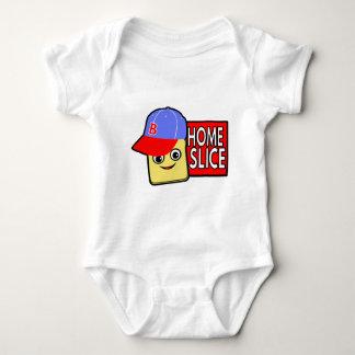 Home Slice Baby Bodysuit