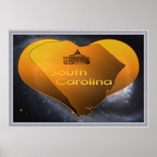 Home South Carolina Poster
