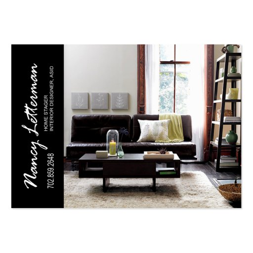 Home Stager Interior Designer Business Card  Zazzle