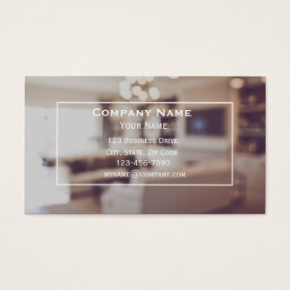 Home Staging Business Cards