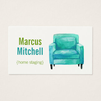 Home Staging Business Cards - horizontal